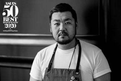 """""""亚洲 50 最佳餐厅""""向LA CIME主厨高田裕介颁授主厨之选奖"""