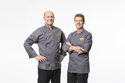 The Butter Book co-founders Chef Jacquy Pfeiffer and Chef Sébastien Canonne, M.O.F.