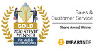 Impartner PRM for Microsoft Dynamics 365 Wins Global Gold Stevie Award - the Solution's Second International Award Already This Year