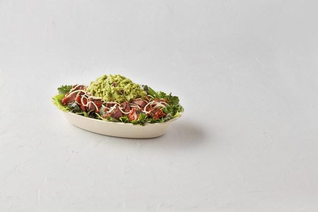 Chipotle's new supergreens salad bowl