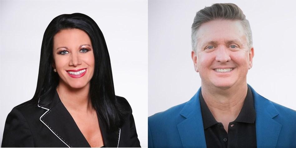 Michelle Saab, VP Marketing Communications and Curt Richtermeyer, EVP Sales
