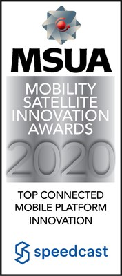 Speedcast Honored with MSUA's Top Connected Mobile Platform Innovation Award