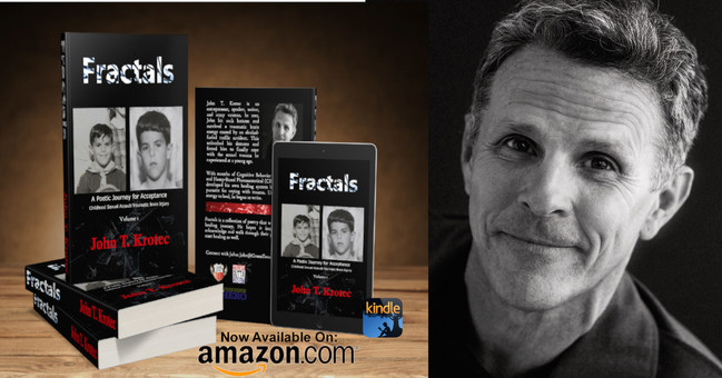 """Fractals: A Poetic Journey for Acceptance (Amazon new release for World Poetry Day) By offering others some poetic inspiration, perhaps, I can add more hope to a seemingly chaotic world."""" - John Krotec"""