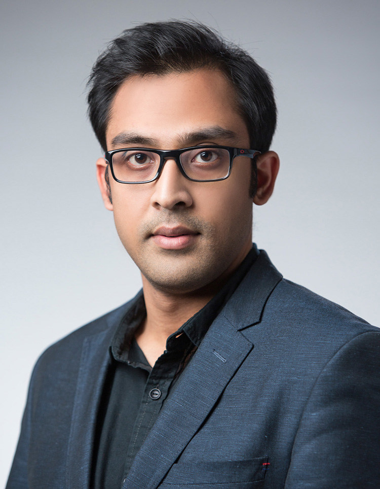 Ayon Hazra, CEO of Qlikchain, the Administrator for the PHBC (PRNewsfoto/VirusBlockchain.com)