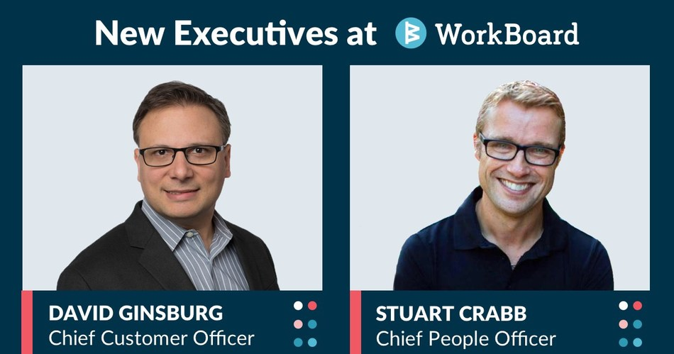 David Ginsburg and Stuart Crabb are now part of WorkBoard's executive leadership team.
