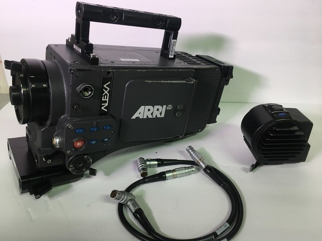 The 200-plus pieces up for bid in March 31 online auction of surplus professional gear from rental house The Camera Division include this Arri Alexa digital camera.