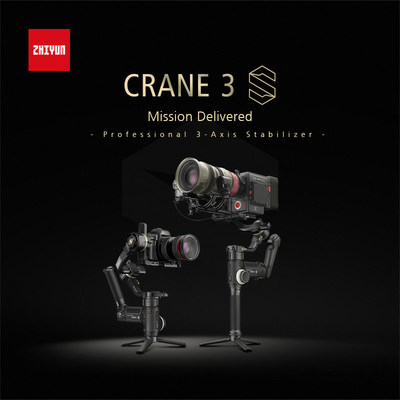 Zhiyun Announces CRANE 3S, a Stronger and More Versatile Gimbal Ready for Every Challenge