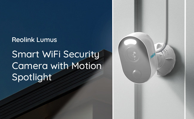 Reolink 1080p WiFi Wireless Security Camera with Motion Spotlight