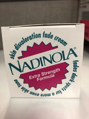 Nadinola Top (CNW Group/Health Canada)