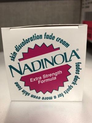 Le produit éclaircissant pour la peau non homologué (Groupe CNW/Santé Canada)