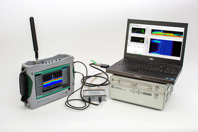 Anritsu adds IQ capture and streaming to Field Master Pro MS2090A for enhanced signal analysis in military intelligence and government regulation applications.