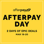 Bi-Annual Afterpay Day Offers US Customers 48 Hours of Promotional Sales