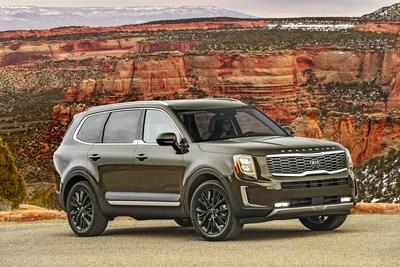 El Kia Telluride es el vehículo ideal para familias, según el U.S. News & World Report (PRNewsfoto/Kia Motors America)