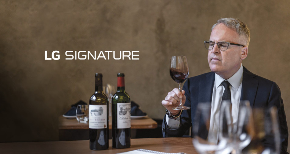 LG SIGNATURE Brand Ambassador, World-renowned Wine Critic James Suckling