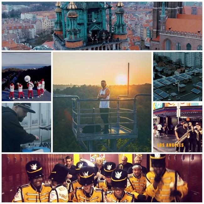 Rebel Babel Ensemble collage