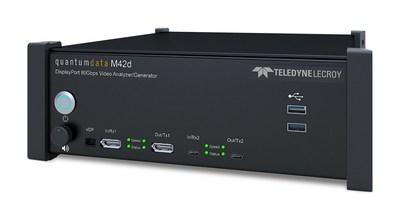 M42d 80Gbps Video Analyzer/Generator for DisplayPort 2.0 Testing