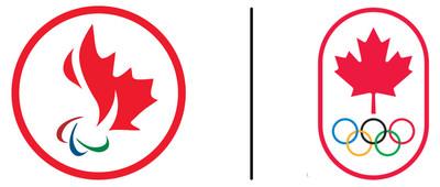 Logo : Comité paralympique canadien/Comité olympique canadien (Groupe CNW/Canadian Paralympic Committee (Sponsorships))