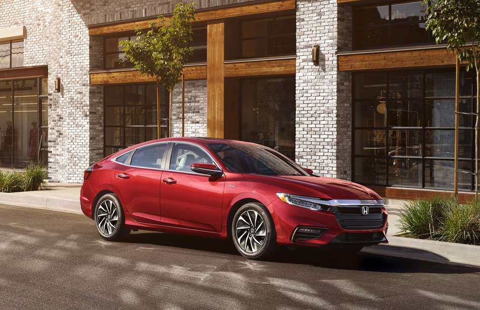 The 2021 Honda Insight begins arriving at dealerships tomorrow featuring newly available blind spot information (BSI) with Cross Traffic Monitor along with a new exterior color—Radiant Red Metallic. With best-in-class passenger space, upscale interior appointments and a refined driving experience, the 2021 Insight is a premium compact sedan with EPA city fuel economy ratings up to 55 mpg. The 2021 Insight carries a Manufacturer's Suggested Retail Price of $22,930 (excluding destination).