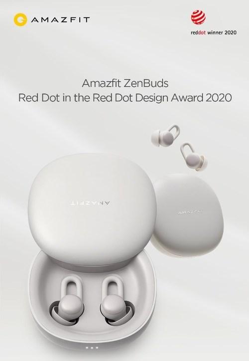 Amazfit ZenBuds Won Red Dot in the Red Dot Design Award 2020