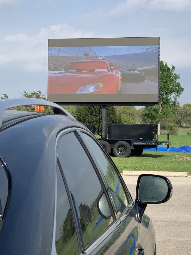 NEW: The Daytime Drive-In? Yes, Ultimate Outdoor Entertainment now has super bright, mobile LED screens that can be seen in full daylight. Ultimate Outdoor Entertainment is re-inventing the drive-in with Mobile LED daytime technology! Churches are now holding drive-in worship service with our new mobile LED screens.