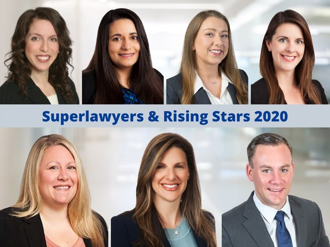 Weinberger Divorce & Family Law Group's Superlawyers & Superlawyers Rising Stars 2020