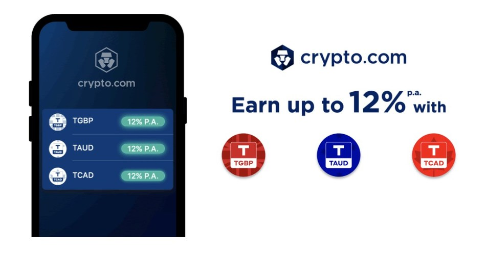 Additional stablecoin options offer fiat on/off ramps and ability to Earn up to 12% p.a.