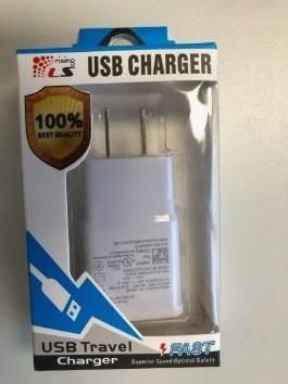 Chargeur USB LS Rising (Groupe CNW/Santé Canada)