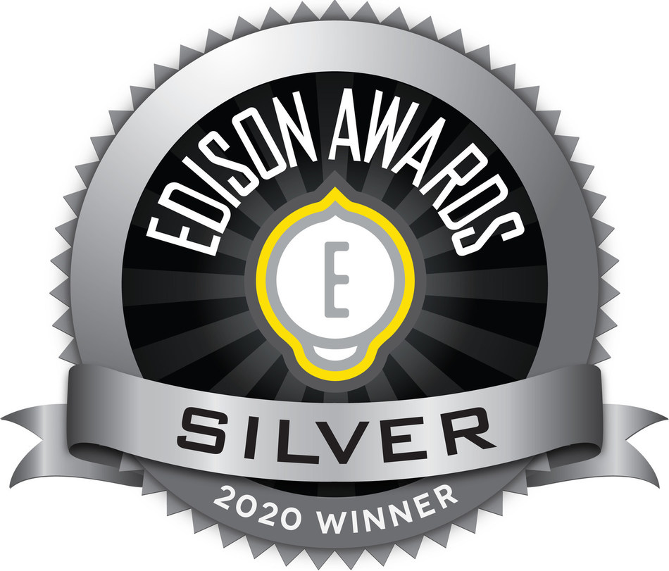 Zsquare Named A Silver Winner of the 2020 Edison Awards (PRNewsfoto/Zsquare)