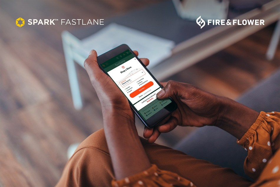 Spark Fastlane Click and Collect - (c) 2020 Fire & Flower Holdings Corp. (CNW Group/Fire & Flower Holdings Corp.)