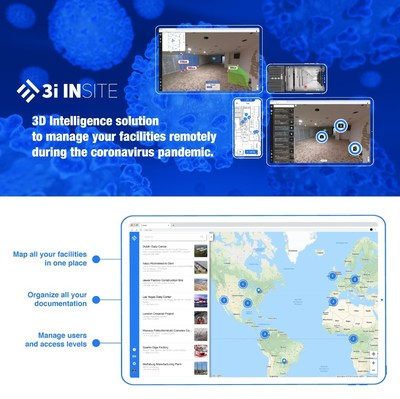3D Intelligence solution to manage your facilities remotely