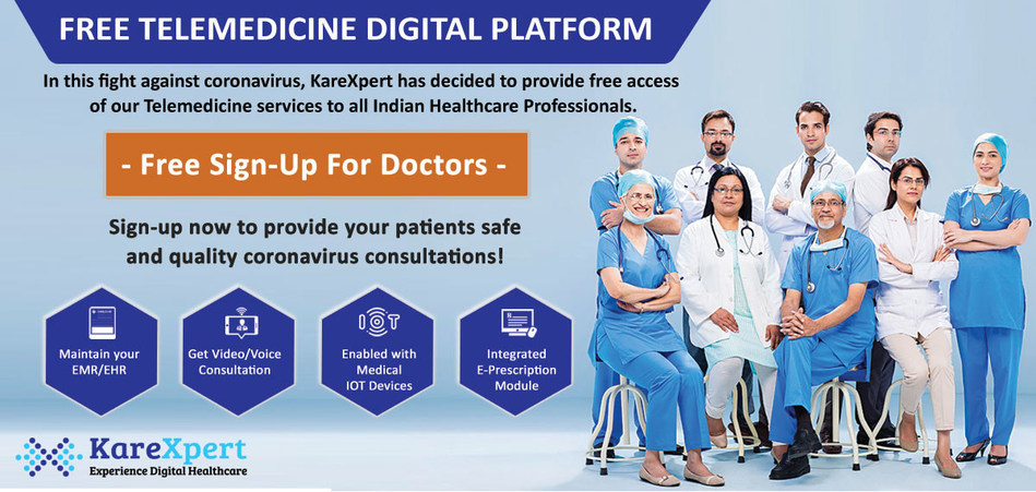 KareXpert Telemedicine for India