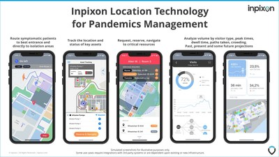 Inpixon's maps, positioning tags and sensors, and analytics can help address several critical healthcare use cases.