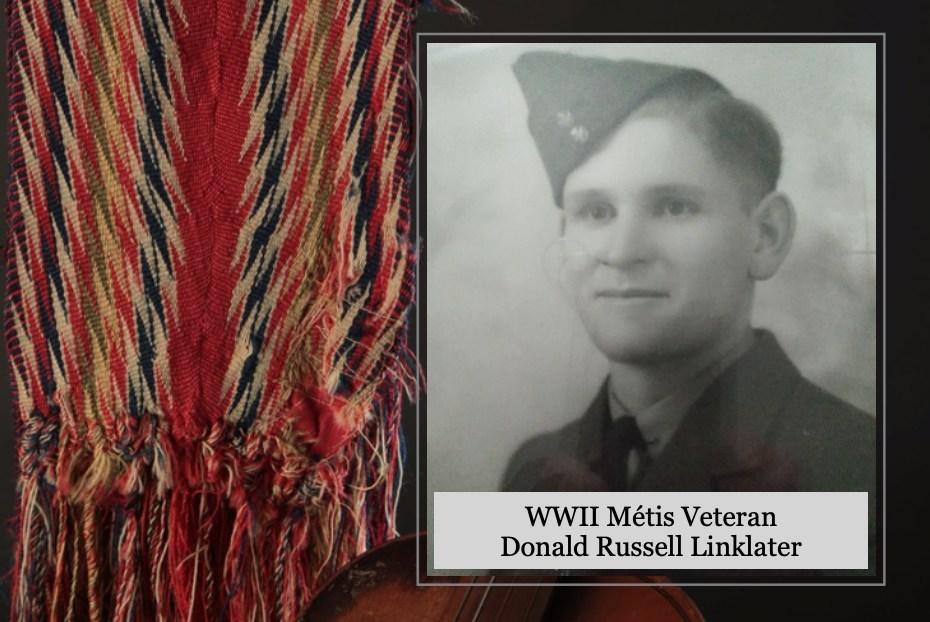 WWII Métis Veteran Donald Russell Linklater (CNW Group/Métis National Council)