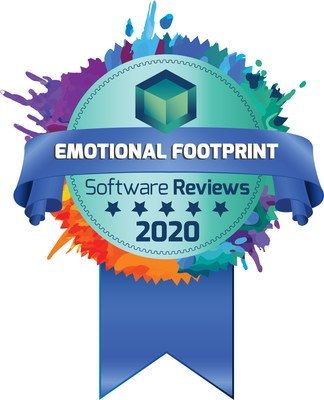 Accounting Seed is awarded first place in the Emotional Footprint category by SoftwareReviews.