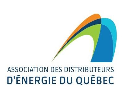 Logo : Association des distributeurs d'énergie du Québec (ADEQ) (Groupe CNW/Association des distributeurs d''énergie du Québec)