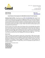 Canasil Receives Final Acceptance for $407,000 Non-brokered Private Placement (CNW Group/Canasil Resources Inc.)