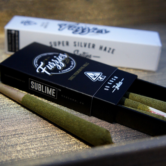 Sublime's Mini Fuzzies are the best-selling infused pre-rolls in California.