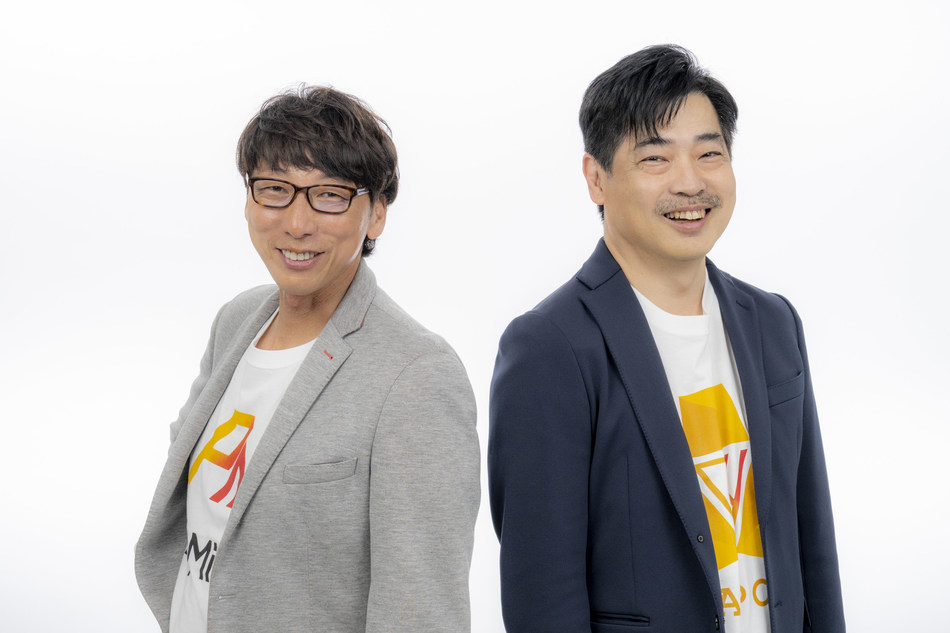 (Left) Naohito Yoshida, co-CEO / (Right) Shigeru Shiina, co-CEO