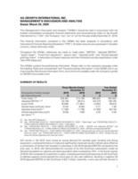 AGI 2019 Q4 MDA (CNW Group/Ag Growth International Inc. (AGI))