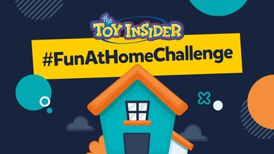 The Toy Insider announced the #FunAtHomeChallenge to encourage people to share the toys and games keeping them entertained during the Coronavirus outbreak