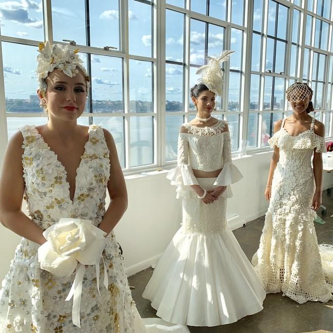 2019 Top three TP Wedding Dress Contest Winners