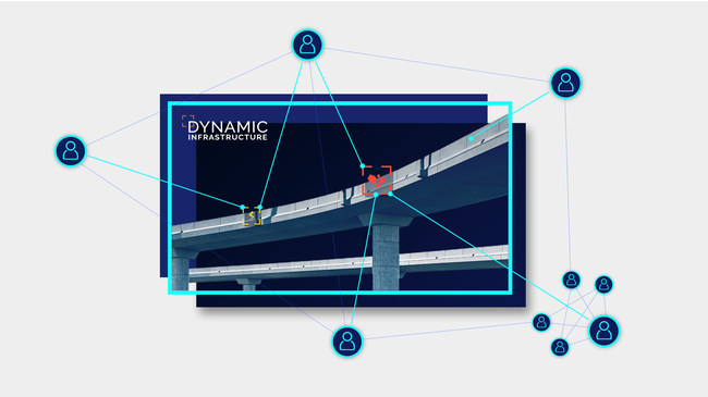 Dynamic Infrastructure. For bridges and tunnels maintenance.