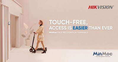 """Hikvision Announces """"Touch-free"""" MinMoe Face Recognition Terminals for Easier Access Control and Time Attendance"""