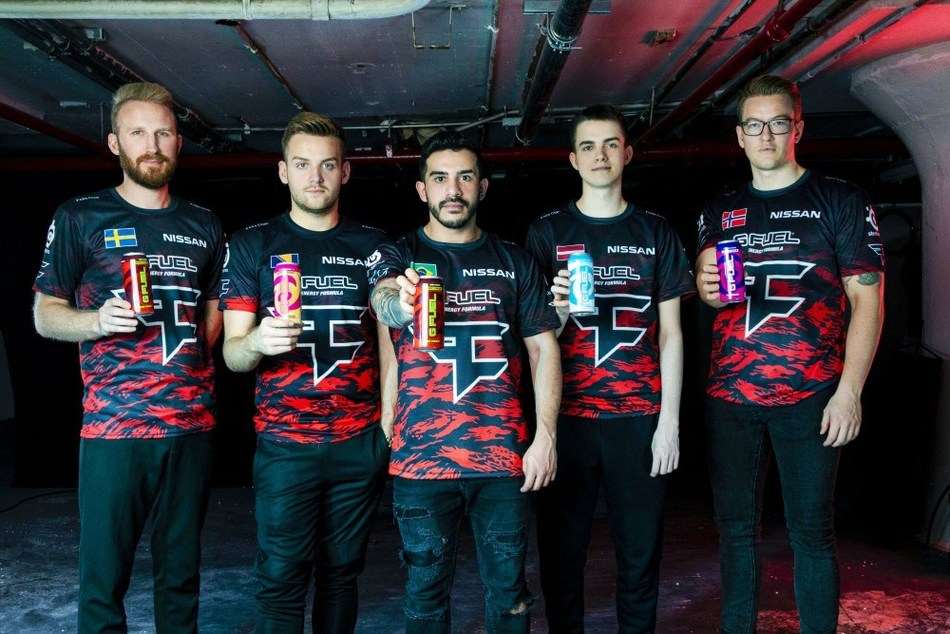 """The expanded partnership between G FUEL and FaZe Clan includes launching FaZeberry G FUEL Hydration, building a cutting-edge """"G FUEL Studio,"""" creating captivating long-form content, and releasing G FUEL FaZeberry Cans in select Walmart, Sheetz, Speedway, Circle K, and other convenience store locations throughout the U.S."""