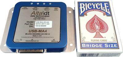 USB MIL-STD-1553 and ARINC Appliance