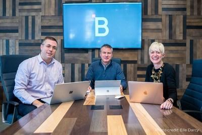 HighByte Co-Founders (left to right): John Harrington, Tony Paine, Torey Penrod-Cambra