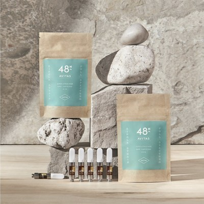 48North's Avitas Vape (CNW Group/48North Cannabis Corp.)