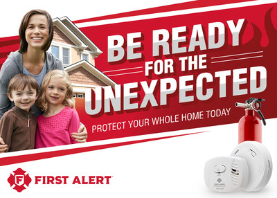 While spending more time at home, First Alert recommends making sure your family is prepared for the unexpected.
