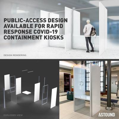 活动设计与生产商ASTOUND在72小时内完成COVID-19快速响应隔离间的创新设计