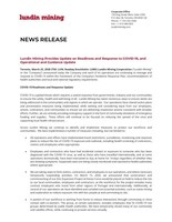 Lundin Mining Provides Update on Readiness and Response to COVID-19, and Operational and Guidance Update (CNW Group/Lundin Mining Corporation)